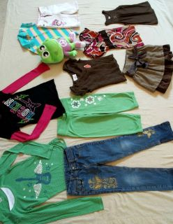 Huge Lot of Girls Trendy School Clothes Size 7 8 Bobby Jack So J Khaki