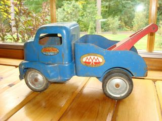 Tonka Toys Official Service Truck Blue Mound Metalcraft 1940S