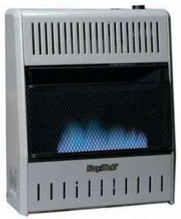 Kozy World 10 000 BTU Blue Flame Natural or Propane Gas Wall Heater