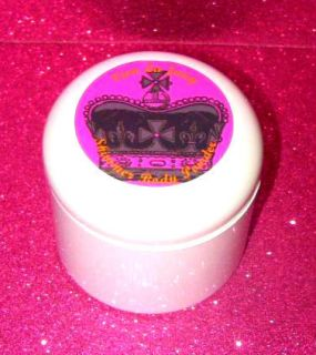JuiCY CouTuRe EDiBLe SHiMMeR BoDY PoWDeR PRiNCeSS CRoWN GLaMoRouS 4 oz