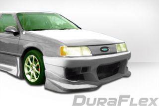 1986 1991 Ford Taurus Street Duraflex Concept Front Bumper Body Kit