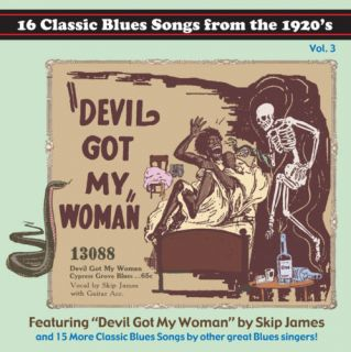 Classic Paramount Blues Songs from The 1920s CD Vol 3