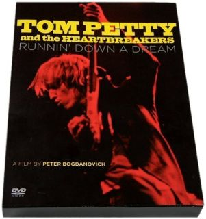 TOM PETTY & THE HEARTBREAKERS ~ Runnin Down A Dream ~ 3DVD/1CD SET
