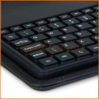 Leather Case Bluetooth Keyboard for 7 Tablet ePad Apad