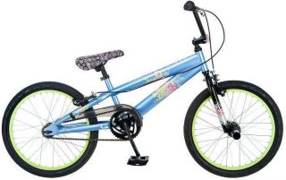 Mongoose R2015 20 inch Girls Kids BMX Bike Bicycle