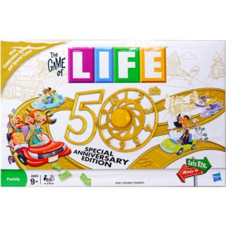 Game of Life 50th Anniversary Edition Board Game