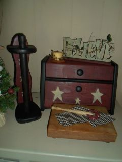 Decor Bread Box Towel Holder Cutting Board and More Gathering