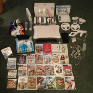Huge Bundle System Controllers 25 Games Balance Board Much More