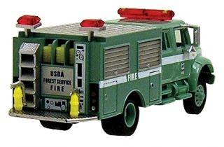 Boley HO 185 403255 U S Forest Service Crew Truck green green