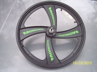 Mongoose BMX Mag Wheels New Front Rims 20 Inch