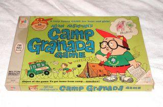 CAMP GRANADA Board Game 1965 by Milton Bradley RARE Pretty Nice Last