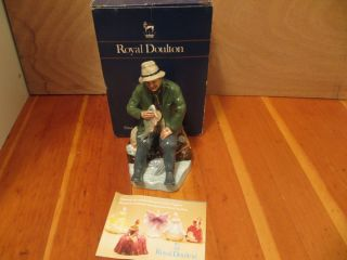 Royal Doulton The Boatman Porcelain Figurine HN 2417 with Original Box