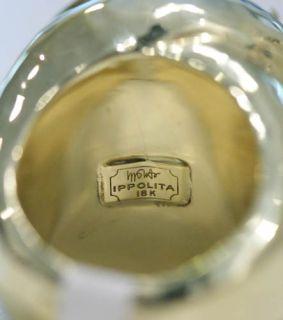 New IPPOLITA Black Onyx 18K Gold Ring Size 6 25 $1595