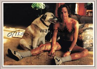 Bob Weir of the Grateful Dead signed 85 86 calendar page featuring his
