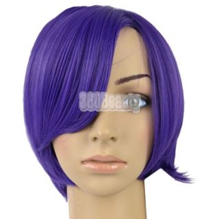 Straight Bob Style Wig Cosplay Party Synthetic Hair Wigs B5UT