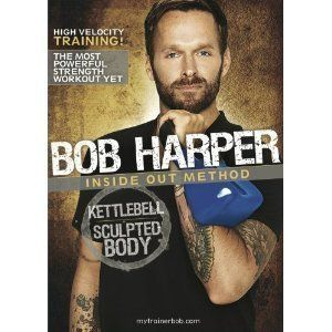 Bob Harper Inside Out Method Kettlebell Sculpted Body Workout DVD