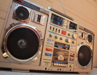 Vintage Conion Technisonic TC 999 Ghettoblaster Boombox