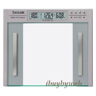 Taylor 5758F Body Fat & Body Water Monitor Bath Weight Scale NEW