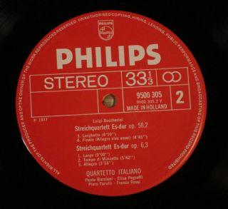 Quartetto Italiano Boccherini String Quartets Philips