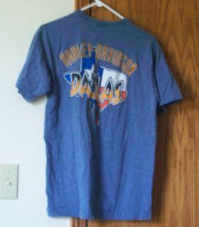 Harley Davidson Dallas Texas Mens T Shirt Medium