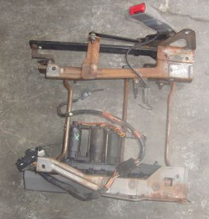 95 Thunderbird Power Seat Track w/ Switch LH Driver may fit Cougar 96