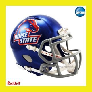 BOISE STATE BRONCOS OFFICIAL NCAA MINI SPEED FOOTBALL HELMET by