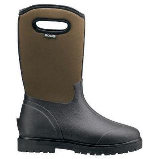 Bogs Roper Waterproof Mens Rain Snow Boots Black Brown 69162 All