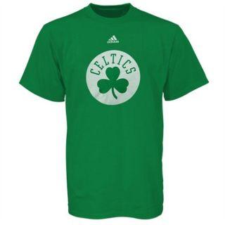 Boston Celtics Adidas Clover Logo T Shirt Sz Youth Med