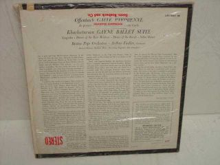 Boston Pops Arthur Fiedler LP LSC 2267 Gaite Parisienne
