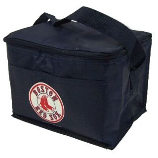 features of mlb baseball boston red sox lunch bag box