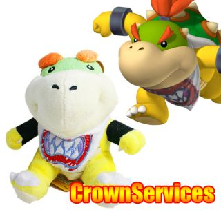 SUPER MARIO BROS. STUFFED PLUSH 6 BOWSER JR. BRAND NEW W/ TAGS