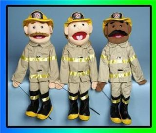Sunny Puppets Full Body Fire Fighter Hero Pretend Play