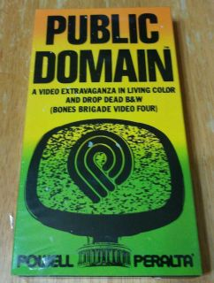 1988 PUBLIC DOMAIN THE BONES BRIGADE VIDEO IV POWELL PERALTA MCGILL