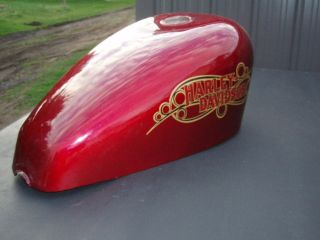 Harley trademarked Sportster King gas tank/ fuel tank 80ies sportster
