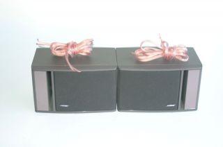 Bose 141 Bookshelf 80 Watt Full Range Stereo Speakers