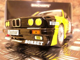 BMW M3 DTM WINNER EIFELRENNEN 1988 31 K THIIM E30 RARE RACE CAR BORBET