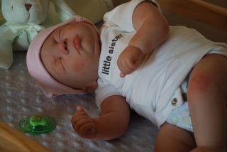 Realistic Newborn Reborn Baby Girl Tabitha