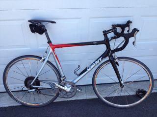 2007 Giant TCR C1   Carbon Fiber Road Bike   Ultegra   Dura Ace   Size