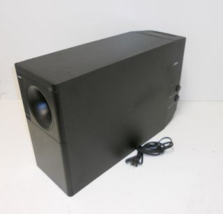 Bose Acoustimass 25 Series II Powered Subwoofer w/ Power Cord WORKS