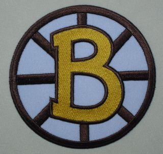 Boston Bruins Team Logo Iron on Patch NHL Hockey