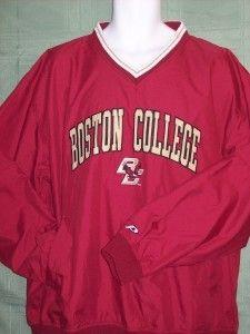 Boston College Eagles NCAA LG Pullover Windshirt Jacket