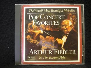 CD Readers Digest POP CONCERT FAVORITES by ARTHUR FIEDLER The Boston