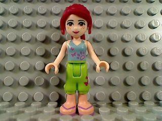Lego Friends MIA Female Girl Freckles Minifigure 3188 Heartlake Vet