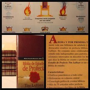 Biblia En Espanol de Estudio Profecia Tim LaHaye