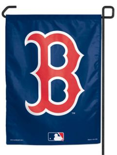 Boston Red Sox MLB Baseball B Logo Garden Size Flag