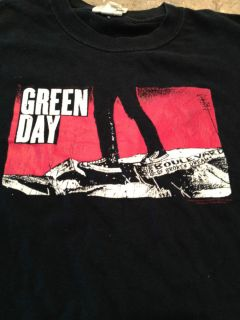 Green Day Band T Shirt Unisex Blvd Broken Dreams Black T EUC