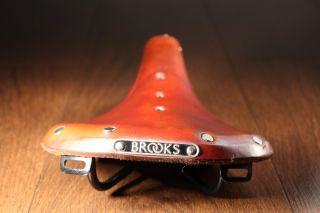 Brooks B17 Saddle Honey Brown Leather Seat