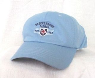 Breckenridge Ski Patrol Colorado Baseball Hat Ball Cap Imperial