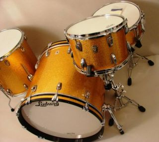 Brand New USA 4pc Ludwig Maple Shell Kit Set Will Customize Any Ludwig