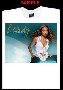 Brandy Custom Photo T Shirt Tee Norwood Moesha 1290